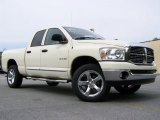 2008 Cool Vanilla White Dodge Ram 1500 Big Horn Edition Quad Cab 4x4 #29762134