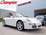 2008 Carrara White Porsche 911 Carrera 4 Cabriolet #29762157