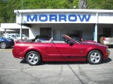2007 Redfire Metallic Ford Mustang GT Premium Convertible #29762296