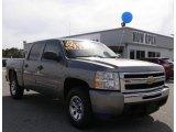 2009 Graystone Metallic Chevrolet Silverado 1500 LT Crew Cab 4x4 #29763078