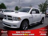 2010 Stone White Dodge Ram 1500 Sport Crew Cab #29831761