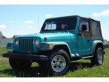 1997 Jeep Wrangler Bright Jade Satin Glow