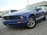 2005 Sonic Blue Metallic Ford Mustang V6 Deluxe Coupe #29831649