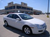 2008 White Suede Ford Fusion SE #29832147