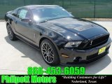 2011 Ebony Black Ford Mustang Shelby GT500 SVT Performance Package Coupe #29831842