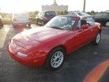 Classic Red Mazda MX-5 Miata in 1997