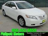 2008 Super White Toyota Camry XLE V6 #29831849