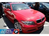 2007 Crimson Red BMW 3 Series 328i Sedan #29831854