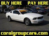 2005 Performance White Ford Mustang V6 Premium Coupe #29832205