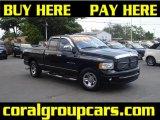 2002 Black Dodge Ram 1500 SLT Quad Cab #29832207