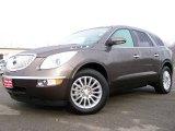 2008 Cocoa Metallic Buick Enclave CXL AWD #2974141