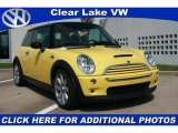 2005 Liquid Yellow Mini Cooper S Hardtop #29763271