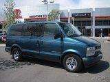Medium Cadet Blue Metallic Chevrolet Astro in 2001
