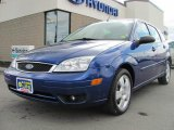 2005 Sonic Blue Metallic Ford Focus ZX5 SES Hatchback #29763024