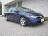 2007 Royal Blue Pearl Honda Civic EX Sedan #29899830