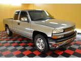 2001 Light Pewter Metallic Chevrolet Silverado 1500 Extended Cab 4x4 #29899982