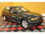 2002 Oxford Green Metallic BMW 3 Series 325xi Wagon #29899986