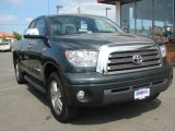 2008 Timberland Green Mica Toyota Tundra Limited Double Cab 4x4 #29900159