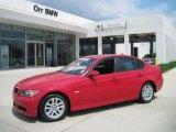 2007 Crimson Red BMW 3 Series 328i Sedan #29899870