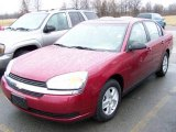 2005 Sport Red Metallic Chevrolet Malibu LS V6 Sedan #2974036