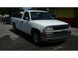 Summit White Chevrolet Silverado 1500 in 2000