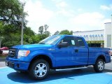2010 Blue Flame Metallic Ford F150 STX SuperCab #29899545