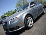 2008 Quartz Grey Metallic Audi A4 2.0T quattro Sedan #29899379