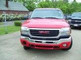 2003 Fire Red GMC Sierra 2500HD SLT Crew Cab 4x4 #29899555