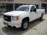 2007 Summit White GMC Sierra 2500HD Regular Cab #29899926