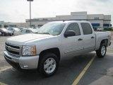 2010 Sheer Silver Metallic Chevrolet Silverado 1500 LT Crew Cab #29899941