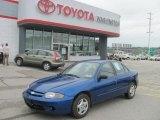 2003 Arrival Blue Metallic Chevrolet Cavalier Sedan #29899572