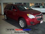 2010 Cardinal Red Metallic Chevrolet Equinox LT AWD #29899972
