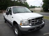 2004 Oxford White Ford F250 Super Duty Lariat Crew Cab 4x4 #29900085