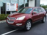 2010 Cardinal Red Metallic Chevrolet Equinox LS #29899499