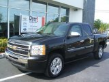 2010 Black Granite Metallic Chevrolet Silverado 1500 LT Crew Cab #29899500