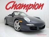 2008 Atlas Grey Metallic Porsche 911 Carrera S Cabriolet #29957021