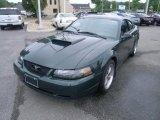 2001 Dark Highland Green Ford Mustang Bullitt Coupe #29957524