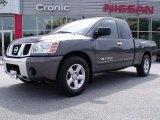 2007 Smoke Gray Nissan Titan SE King Cab #29957347