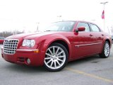 2008 Inferno Red Crystal Pearl Chrysler 300 C HEMI SRT Design #2974321