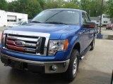 2010 Blue Flame Metallic Ford F150 XLT SuperCab 4x4 #29957685