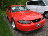 2000 Performance Red Ford Mustang V6 Coupe #29957226