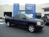 2009 Imperial Blue Metallic Chevrolet Silverado 1500 LT Extended Cab 4x4 #29957230