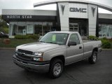 2005 Silver Birch Metallic Chevrolet Silverado 1500 LS Regular Cab 4x4 #29957240