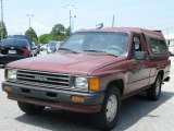1987 Toyota Pickup Wine Red