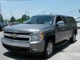 2008 Graystone Metallic Chevrolet Silverado 1500 LT Extended Cab #29957750