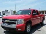2007 Victory Red Chevrolet Silverado 1500 LT Z71 Extended Cab 4x4 #29957751