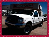 2002 Oxford White Ford F250 Super Duty XL Regular Cab 4x4 #29957286