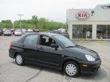 2007 Suzuki Aerio Black Onyx Pearl