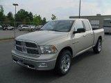 2010 Light Graystone Pearl Dodge Ram 1500 Big Horn Quad Cab 4x4 #29957795