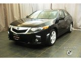 2009 Crystal Black Pearl Acura TSX Sedan #29956971